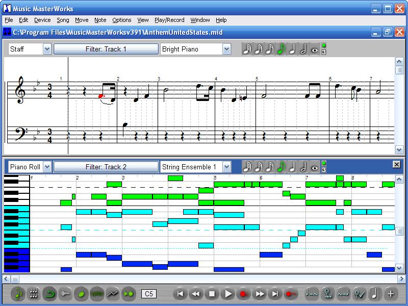 Как сделать музыку формата midi - Astro-athena.Ru